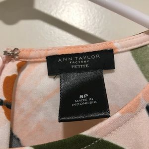 Ann Taylor Factory Tops - Floral top